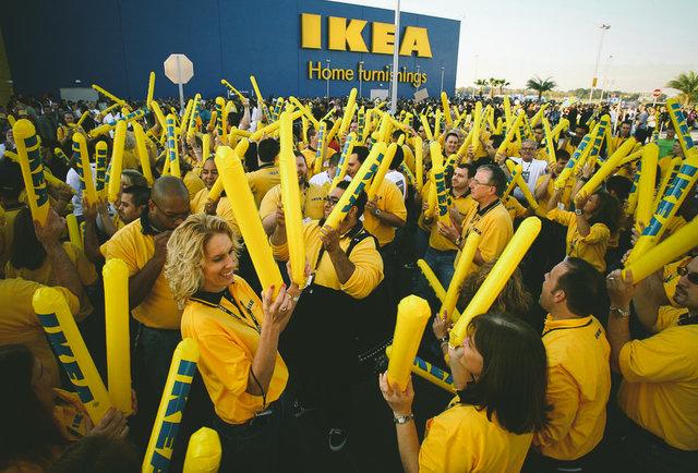Zaměstnanci IKEA